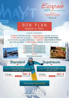 Bon plan Escapade 100% Hautes-Alpes à La Mayt Vars