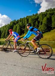 Cyclisme Col de Vars Lac de Napoléon