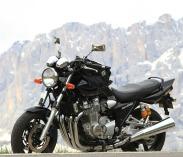 Route des Grandes Alpes en moto